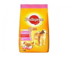 Buy Pedigree Puppy Dry Dog Food, Milk & Vegetables 1.25Kg